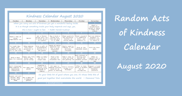 random-acts-of-kindness-calendar-august-2020