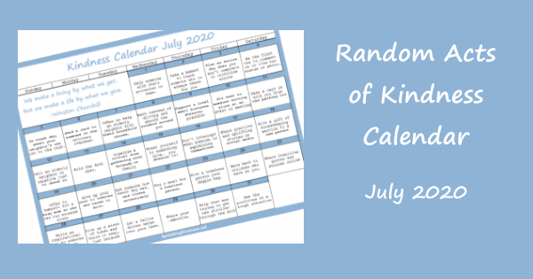 random-acts-of-kindness-calendar-july-2020